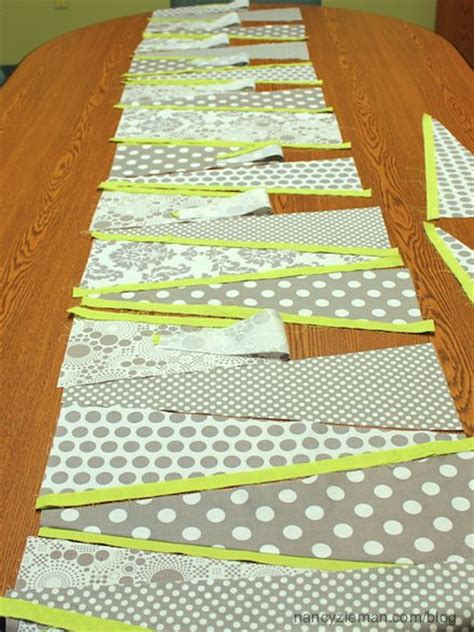 sew easy table how to sew a dresden table runner sewing with nancy zieman