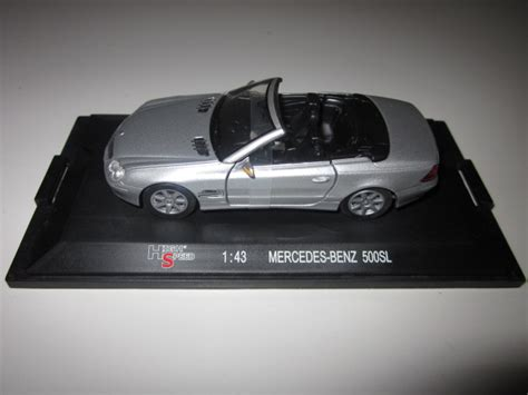 Diecast High Speed Skala 195 bimbim diecast metal diecast 0225 high speed mercedes 500sl