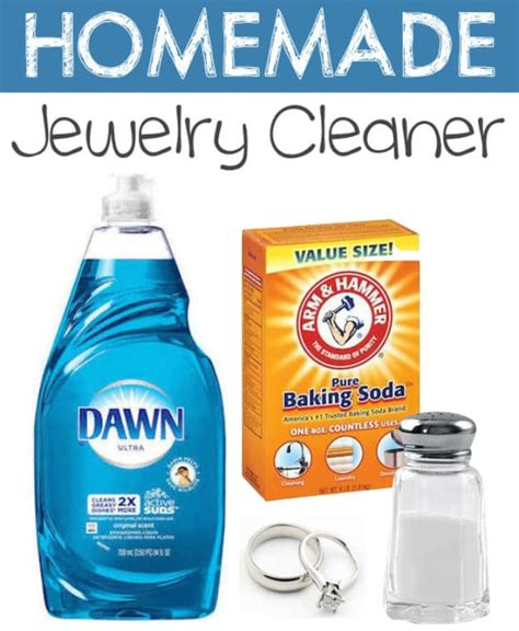 how do you make jewelry cleaner household product hacks you can make at home