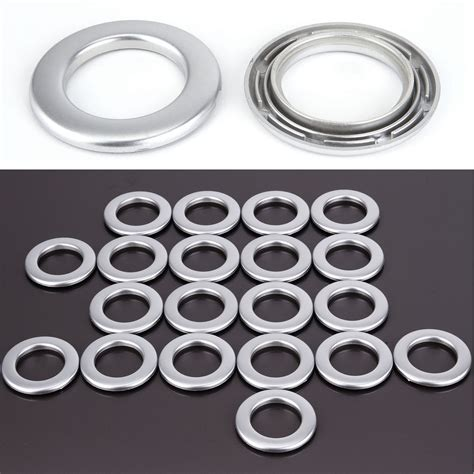 plastic eyelets for curtains set of 20 plastic drapery curtain eyelets rings clips