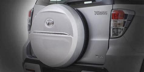 Cover Kaver Spion Terios Luxio Original spesifikasi dan harga daihatsu terios ts auto mobil