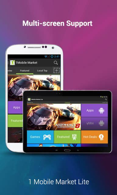 1 mobile market 1mobile market lite apk for android aptoide