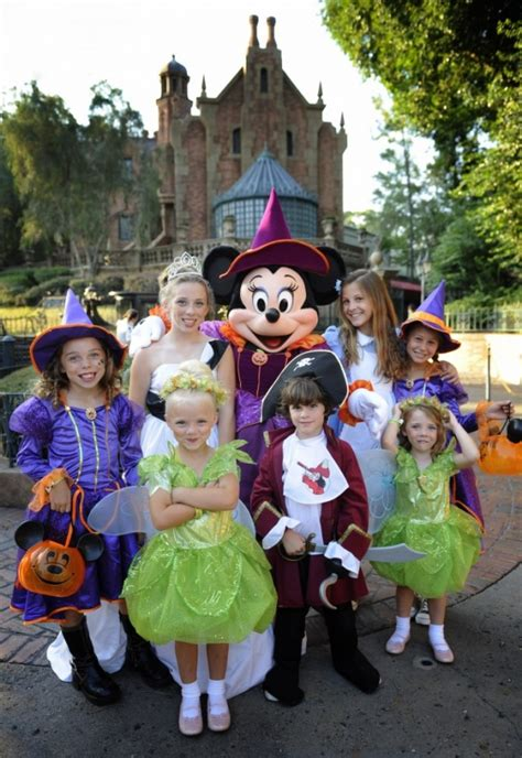 here are some costumes from mickeys halloween party at disney halloween parties family friendly costume ideas