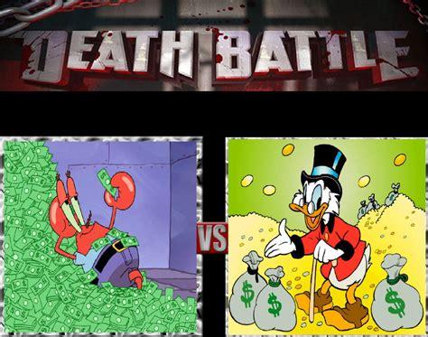 Scrooge Mcduck Meme - mr krabs vs scrooge mcduck by keyblademagicdan on deviantart
