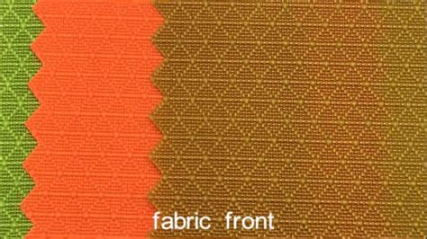 patterned nylon fabric popular 210d triangle patterned ripstop nylon fabric with