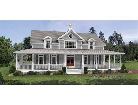 colonial farmhouse with wrap around porch irresistible wraparound porch hwbdo12135 colonial from