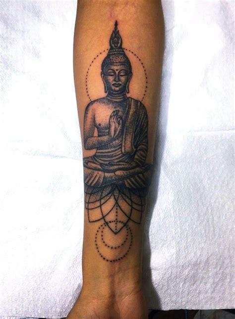 buddha wrist tattoo forearm buddha tatto0s tattoos