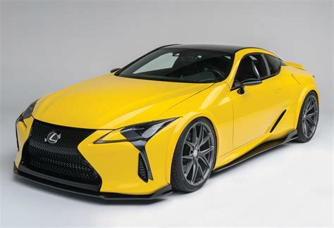 lexus lc500 customized 2018 lexus lc 500 shines at sema motor trend
