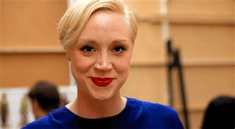 Gif Of Detox Lip Thing by Gorgeous Goddess Gwendoline Christie On Being Quot Pretty