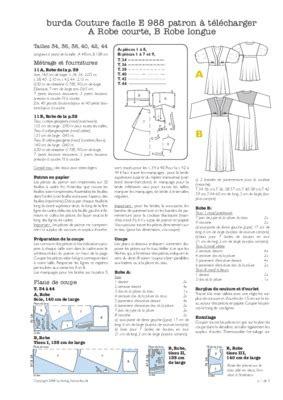 Bibliotheque Grise 481 by Patron Couture Blouse Pdf Notice Manuel D Utilisation