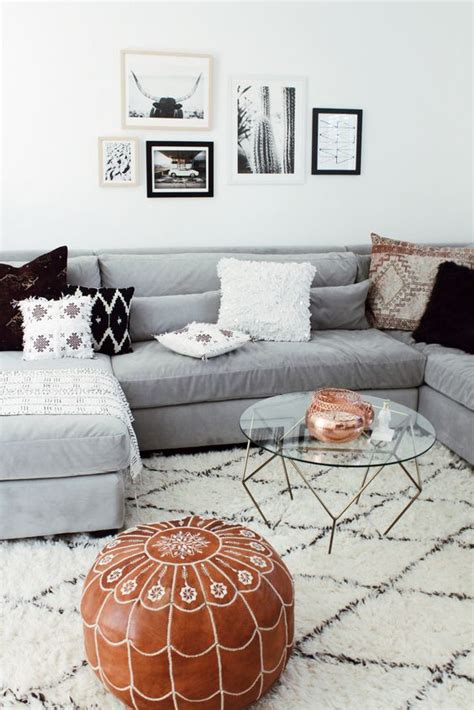 Decor Tips Rugs That Go In With A Grey Sofa