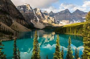 Wall Murals Canada Majestic Canada Mountains And Forests Wallpaper Wall Mural