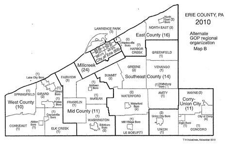 zip code map erie county pa cities in erie county pennsylvania
