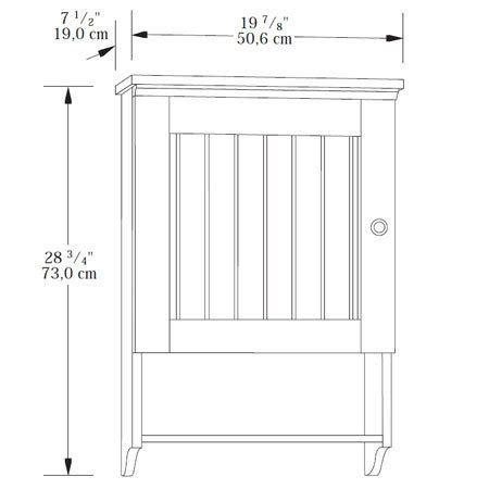 sauder caraway wall cabinet sauder caraway wall cabinet 414061 the furniture co