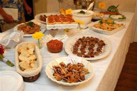 Wedding Reception Foods Ideas by Wedding Food Ideas A Wedding No Matter What