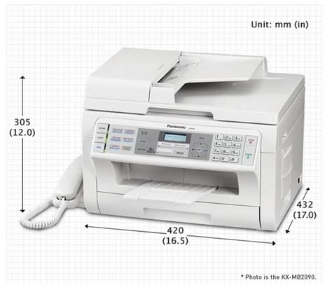 panasonic fax machine 4 in 1 kxmb2085 multifunction print