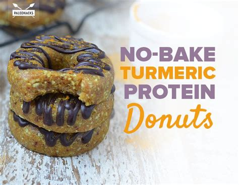 protein donuts no bake vegan turmeric protein donuts healthy grain free
