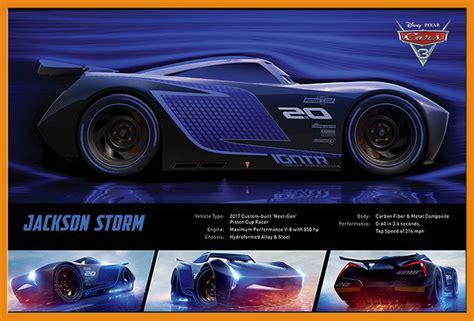 Cars 3 Revvin Jackson disney cars 3 jackson stats poster plakat druck gr 246 223 e 61x91 5 cm ebay