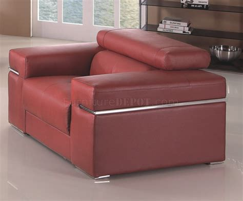 Maroon Sofas by Maroon Sofa In Bonded Leather By American Eagle