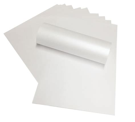 How To Make A4 Pearlescent - 10 x a4 white pearlescent shimmer paper 120gsm suitable