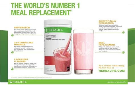 Herbalife Shake F1 Berry herbalife f1 slimming nutritional shake mix 550g canister