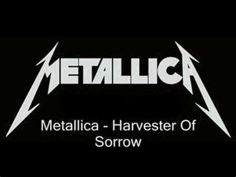 metallica harvester of sorrow metallica harvester of sorrow youtube
