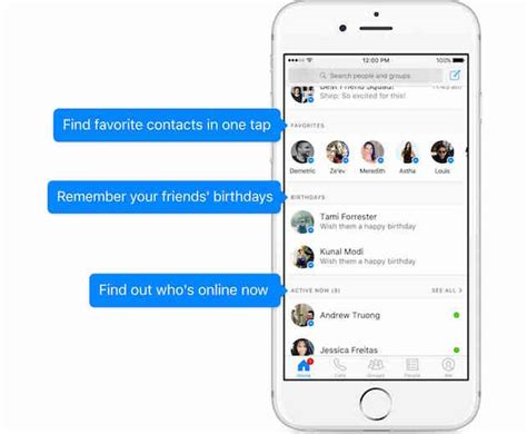 messenger launches a new home page to make