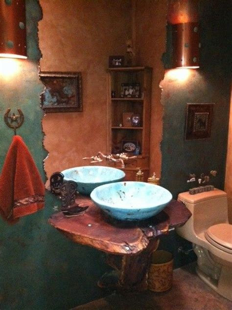 Western Themed Bathroom Ideas 17 Best Images About Make Mine Rustic On