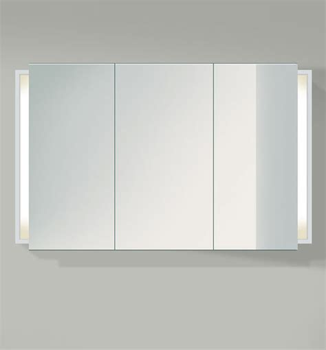 Bathroom Cabinets Mirrored Doors Duravit Ketho 1200mm 3 Door Mirror Cabinet Kt753301818
