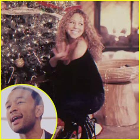 born again john legend mariah carey mariah carey john legend when christmas comes video