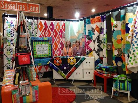 Quilting Houston by Quilt Market In Houston Our Booth Sassafras Designs