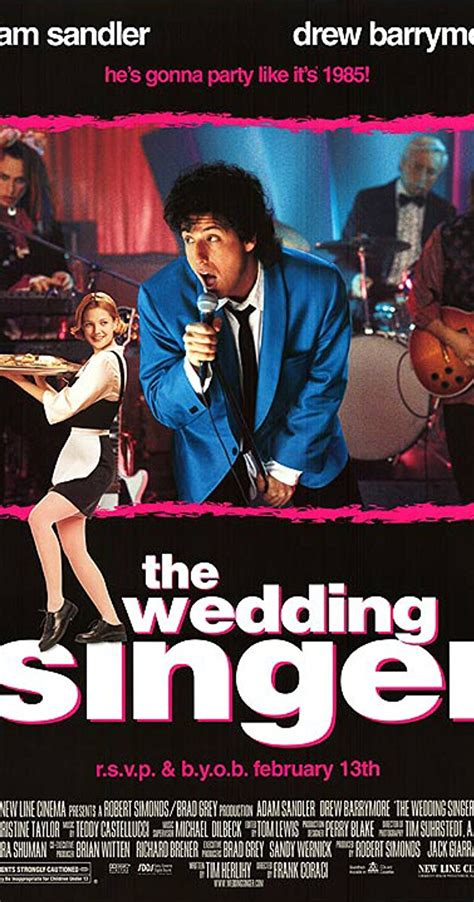 the boy who wanted to be the president s books the wedding singer 1998 imdb
