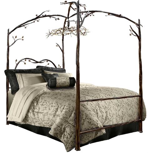 Enchanted Forest Canopy Bed Iron Canopy Bed Timeless Wrought Iron