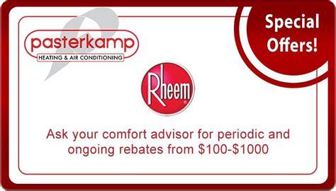 rheem air conditioner rebates 2018 rheem air conditioner rebates 2017 expert event