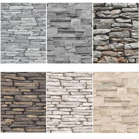 piastrelle da parete pietra ardesia pietra muro effetto carte da parati moderno