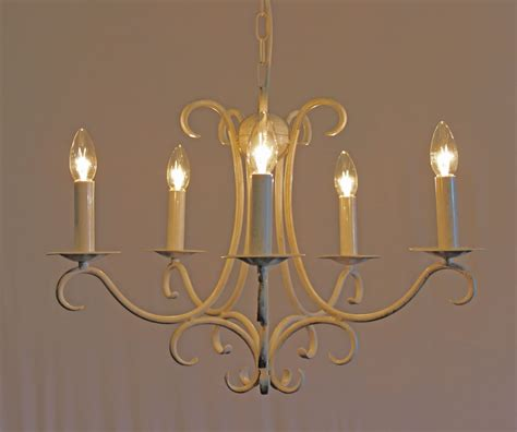 Wrought Iron Candle Chandelier The Elton 5 Arm Wrought Iron Candle Chandelier Bespoke Lighting Co