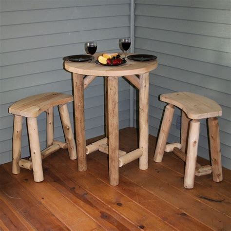 decorating rustic small porch log cabin furniture even
