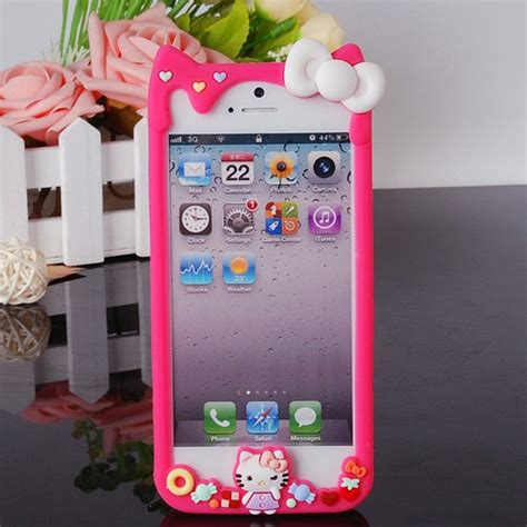 3d Cross Bumper Character Hello Pink 34 best images about ebay silicone phone cases on