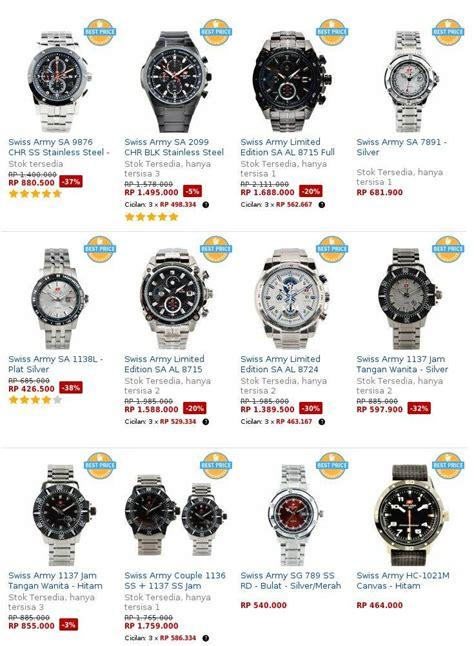 Jam Tangan Swiss Army Original Terbaru daftar harga jam tangan swiss army original terbaru