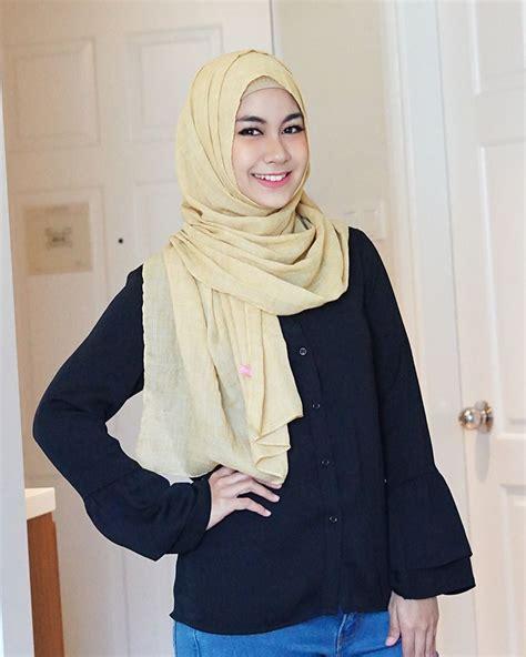 Atasan Dara Kece fashion anisa rahma bukti muslimah tetap bisa