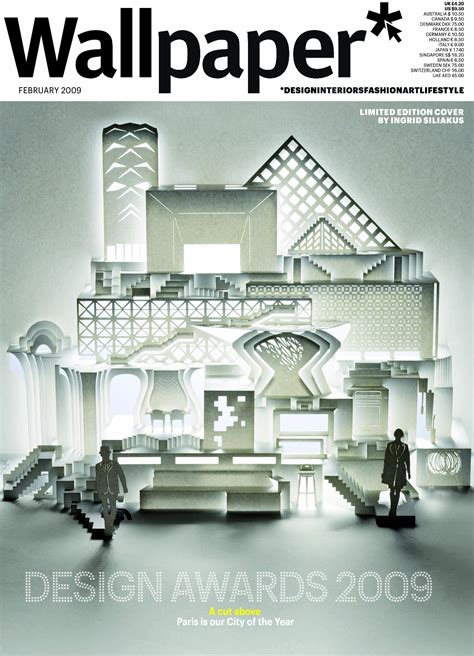 home design and architect magazine stunning paper crafts from ingrid siliakus