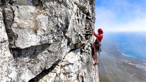 table mountain climbing table mountain rock climbing nightjar travel