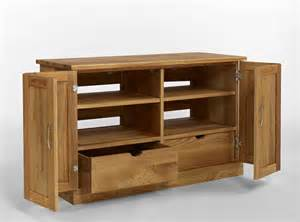 tv schrank eiche contemporary oak widescreen tv cabinet