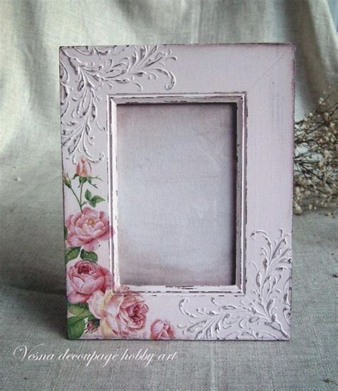 decoupage frame ideas best 25 portaretratos vintage ideas on
