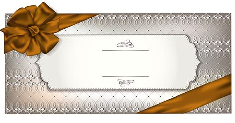 transparent name card template gift card template png clipart image gallery