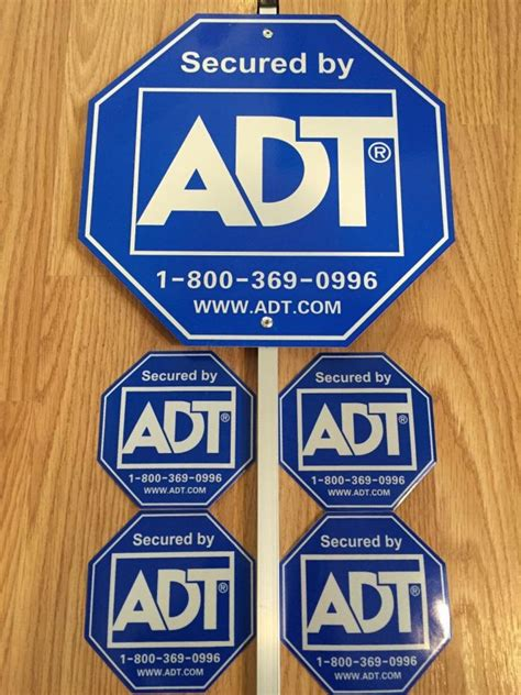 adt home security yard sign for sale classifieds