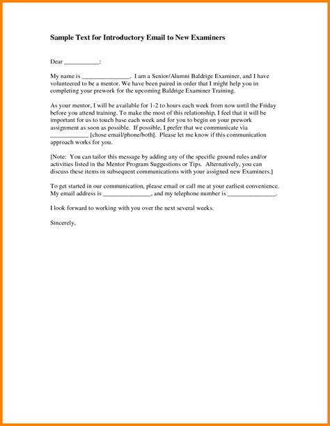 Introduction Letter Of New Employee 7 New Employee Introduction Email Sle Resumed