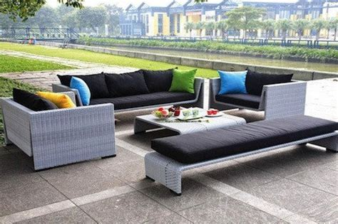 black friday tosh furniture outdoor gray sofa set cyber