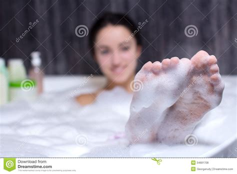 women bathtub woman takes bath stock photo image of beautiful female