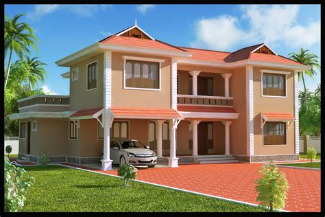 exterior design of house in india kerala building construction 4 bhk villa